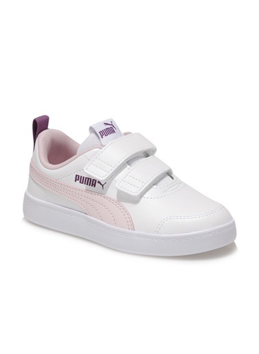 Puma Çocuk Ayakkabı Courtflex V2 37154315 Beyaz